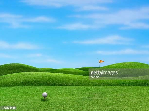 ゴルフ - ティーグラウンド ストックフォトと画像