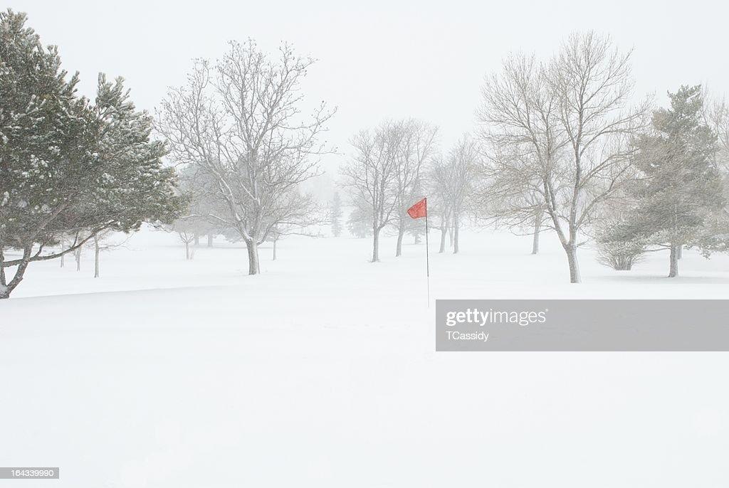 ゴルフ場がクローズ