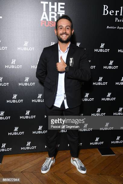 Golf player Alexander Levi attends the Hublot and Berluti unveil of two new watches at Hotel D'Evreux on December 4 2017 in Paris France