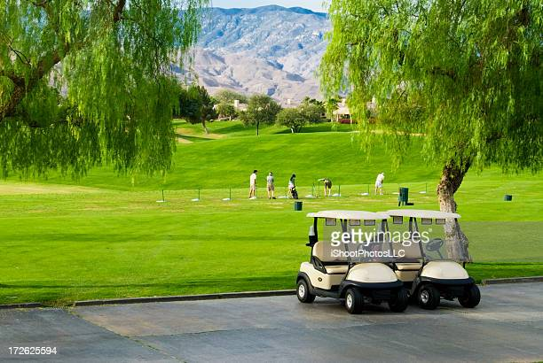 golf practice range - driving range stock pictures, royalty-free photos & images
