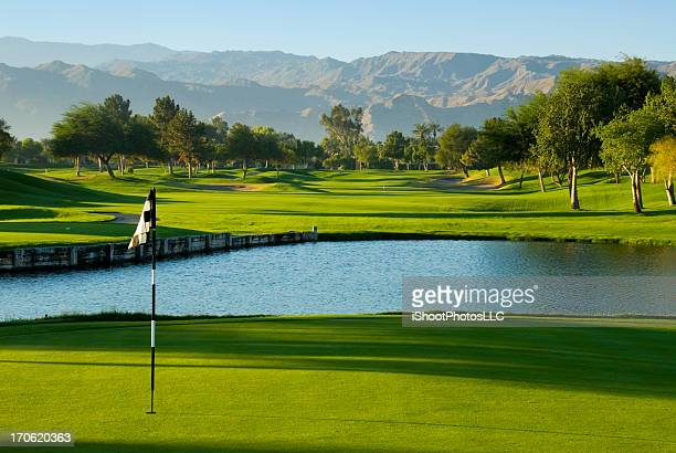 golf resort palm springs - putting green stock pictures, royalty-free photos & images