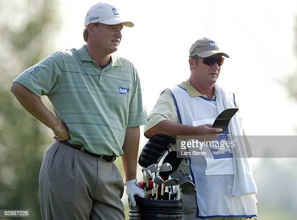 Golf SAP Open 2004 St Leon Roth Ernie ELS / SA mit Caddy 200504
