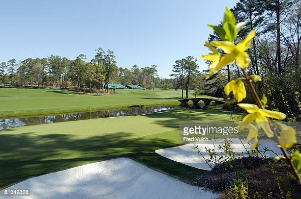 Golf Scenic view of 13th hole Amen Corner at Augusta National Augusta GA 3/24/2004