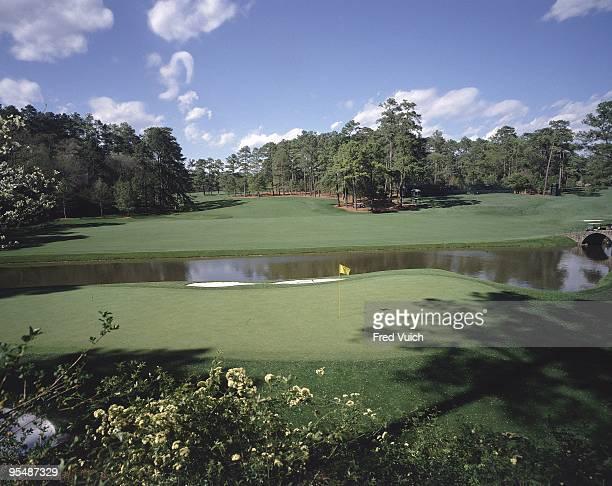 Scenic view of No 12 at Augusta National. Amen Corner. Augusta, GA 1/1/1990-- CREDIT: Fred Vuich