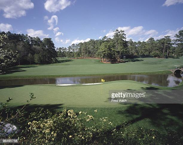 Scenic view of No 12 at Augusta National. Amen Corner. Augusta, GA 1/1/1990-- CREDIT: Fred Vuich