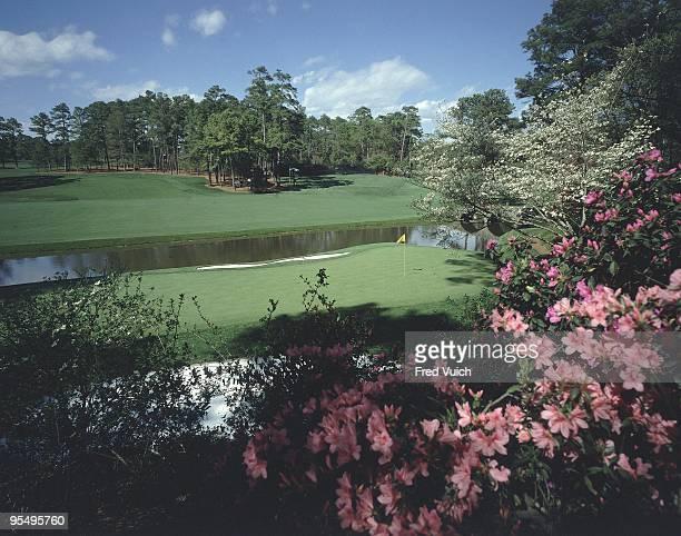 Scenic view of No 12 at Augusta National Amen Corner Augusta GA 1/1/1990 CREDIT Fred Vuich