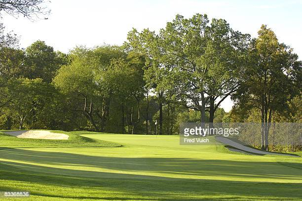 Scenic view of No 13 at Winged Foot GC. Mamaroneck, NY CREDIT: Fred Vuich