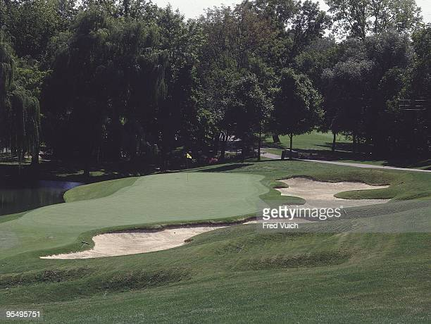 Scenic view of No 14 at Muirfield Village GC. Dublin, OH 1/1/1990-- CREDIT: Fred Vuich