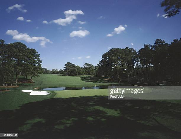 Scenic view of No 15 at Augusta National. Augusta, GA 1/1/1990-- CREDIT: Fred Vuich