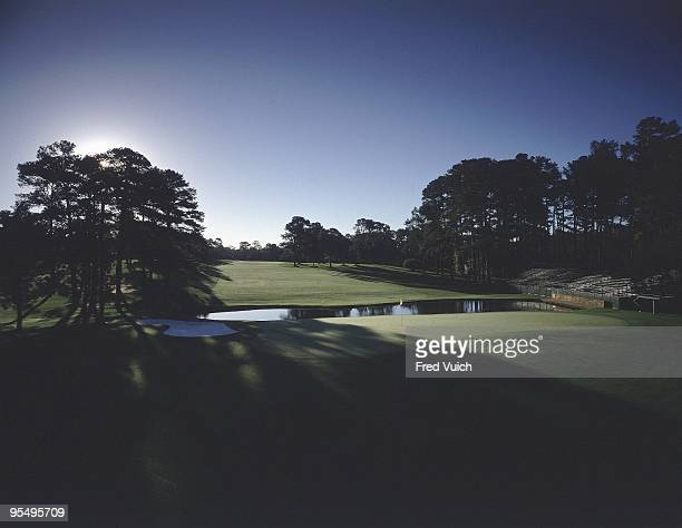 Scenic view of No 15 at Augusta National Augusta GA 1/1/1990 CREDIT Fred Vuich