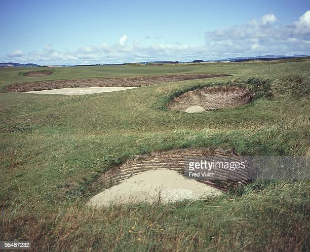 Scenic view of No 17 and No 7 at St Andrews Old Course. St Andrews, Scotland 1/1/1990-- CREDIT: Fred Vuich