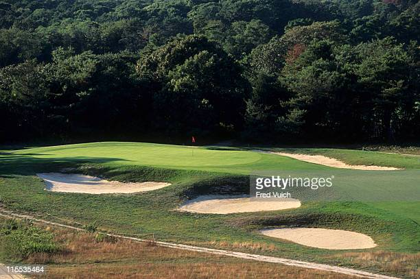 Scenic view of No 17 at Shinnecock Hills GC. Southampton, NY 1/1/1990-- CREDIT: Fred Vuich/Golf Magazine