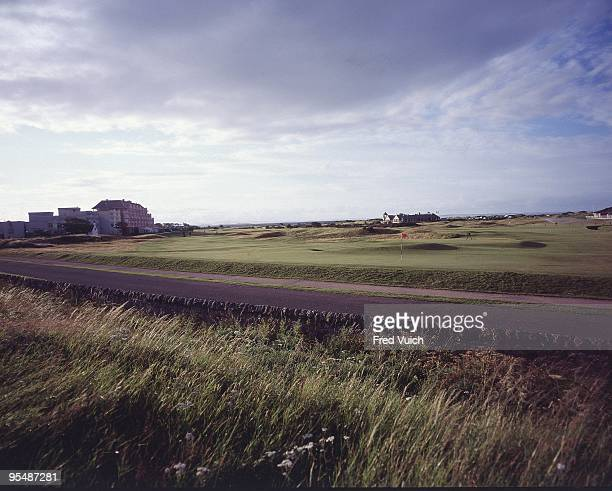 Scenic view of No 17 at St Andrews Old Course St Andrews Scotland 1/1/1990 CREDIT Fred Vuich