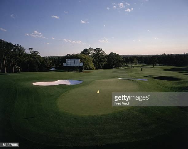 Golf Scenic view of No 18 at Augusta National Augusta GA 1/1/1995
