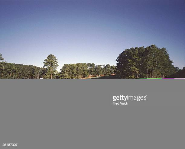 Scenic view of No 2 at Augusta National Augusta GA 1/1/1990 CREDIT Fred Vuich