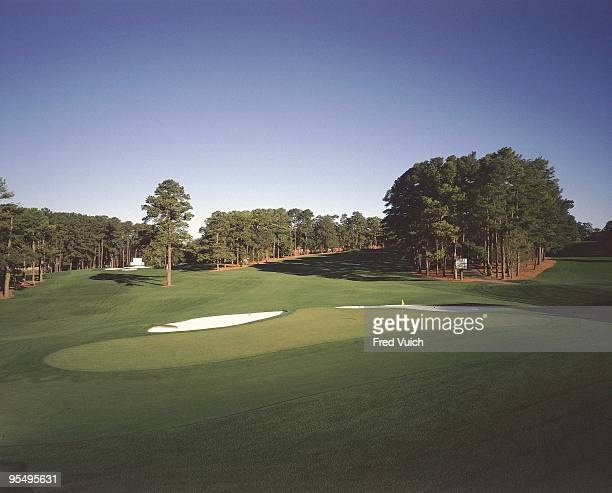 Scenic view of No 2 at Augusta National. Augusta, GA 1/1/1990-- CREDIT: Fred Vuich