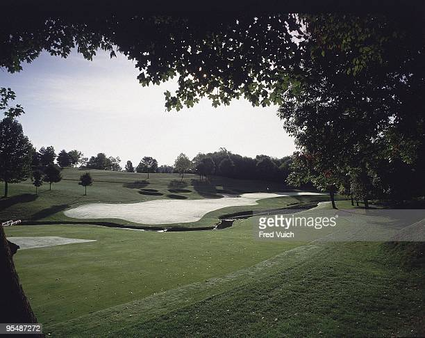 Scenic view of No 9 at Muirfield Village GC. Dublin, OH 1/1/1990-- CREDIT: Fred Vuich