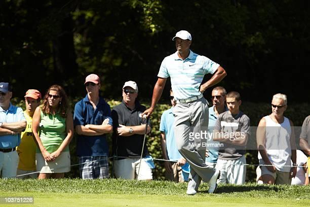 Tiger Woods during Friday play at Ridgewood CC. FedEx Cup. Paramus, NJ 8/27/2010 CREDIT: Mike Ehrmann