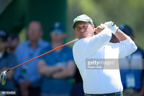 The Masters Jeff Knox in action during Saturday play at Augusta National Augusta GA CREDIT Robert Beck