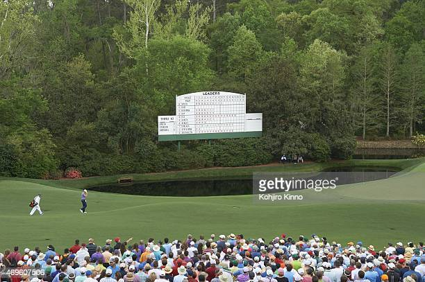 The Masters Jordan Spieth approaches No 12 tee during Friday play at Augusta National Augusta GA CREDIT Kohjiro Kinno
