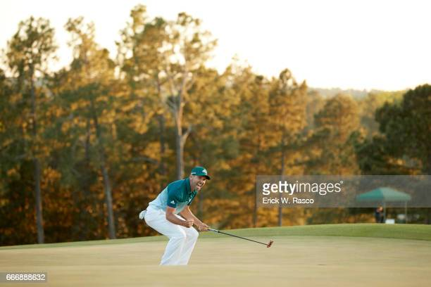 The Masters Sergio Garcia victorious after sinking putt to win playoff on Sunday at Augusta National Augusta GA CREDIT Erick W Rasco