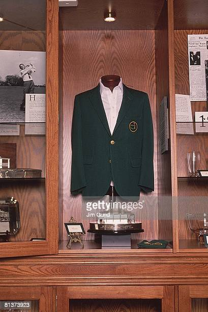 Golf The Masters View of green blazer in clubhouse locker room at Augusta National Augusta GA 4/4/1996