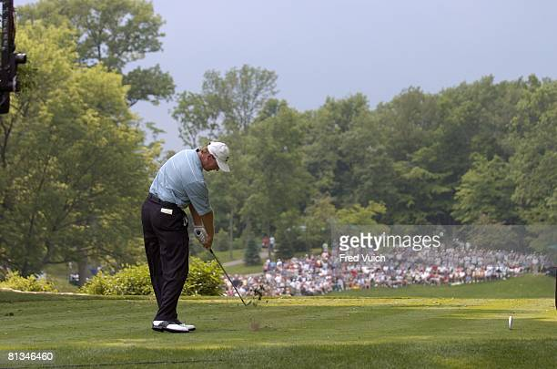 Golf The Memorial Ernie Els in action on Sunday at Muirfield Village GC Dublin OH 6/6/2004