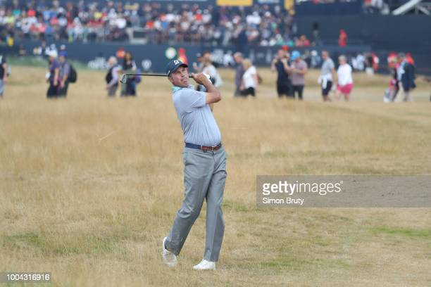The Open Championship Matt Kuchar in action during Saturday play at Carnoustie Golf Links Carnoustie Scotland 7/21/2018 CREDIT Simon Bruty