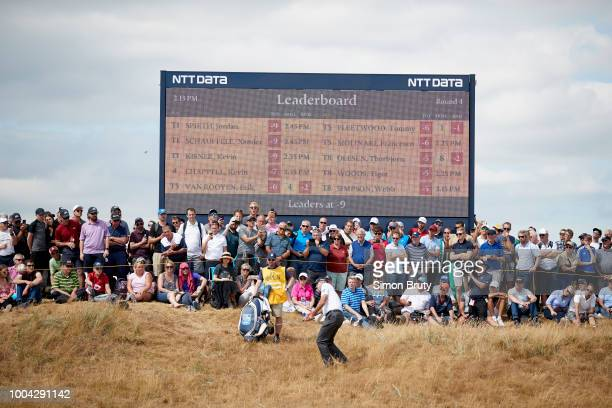 The Open Championship Matt Kuchar in action during Sunday play at Carnoustie Golf Links Carnoustie Scotland 7/22/2018 CREDIT Simon Bruty