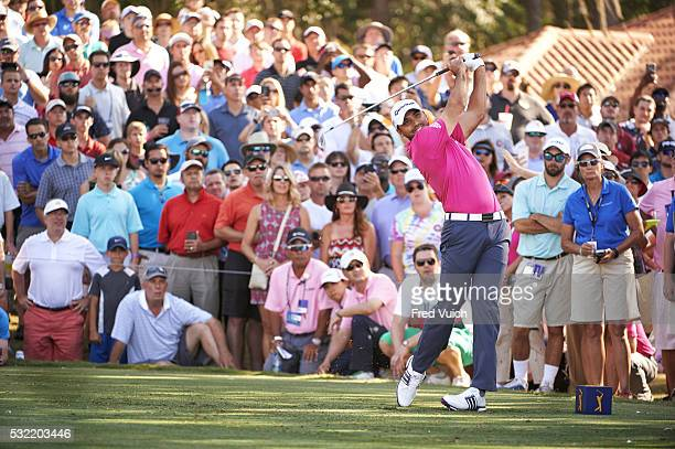 The Players Championship Jason Day in action drive from No 12 tee during Sunday play at Stadium Course of TPC Sawgrass Ponte Vedra Beach FL CREDIT...