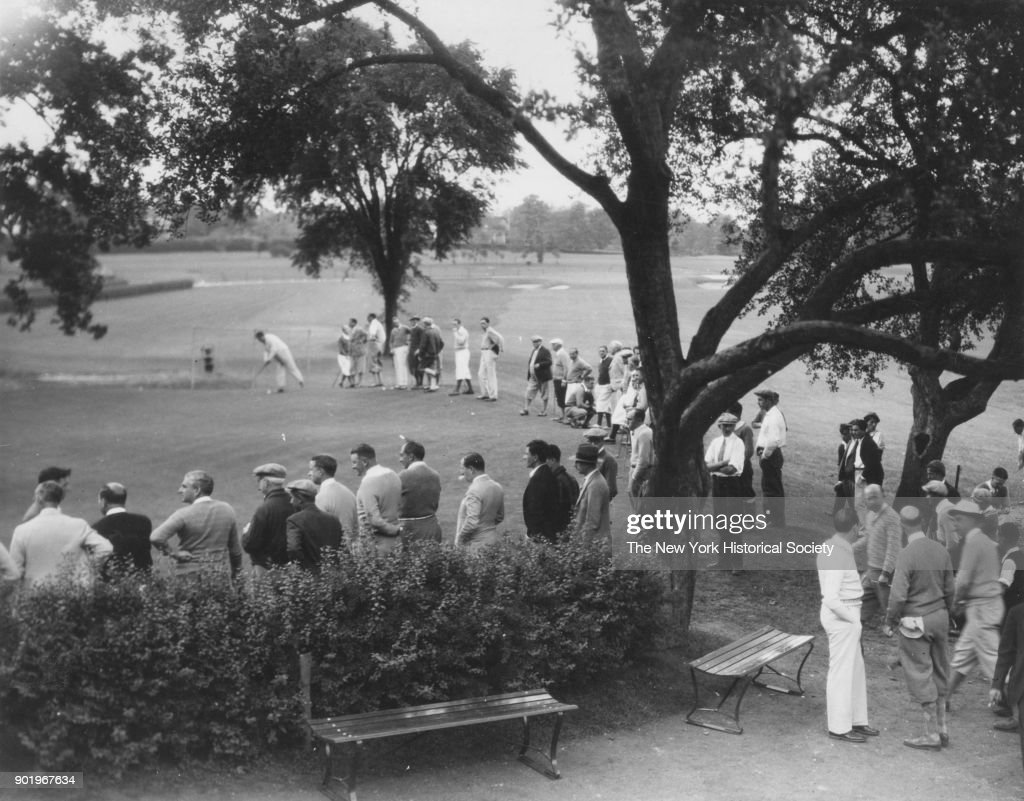 Golf Tournament, Fenimore Country Club, Scarsdale, New York, 1929.
