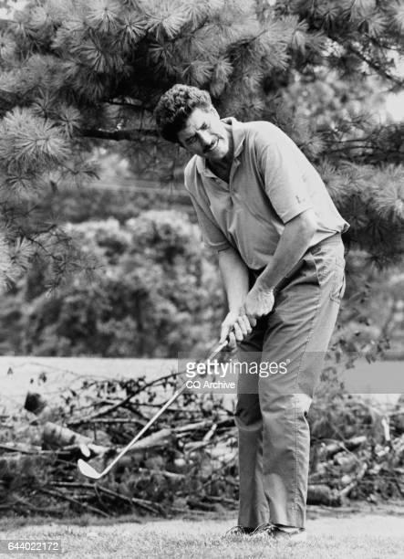 Golf Tournament Rep Bob Carr DMich on July 7 1989