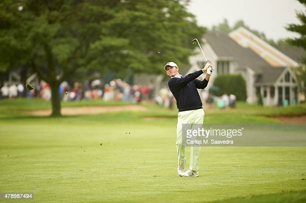 Travelers Championship Brandt Snedeker in action during Sunday play at TPC River Highlands Cromwell CT CREDIT Carlos M Saavedra