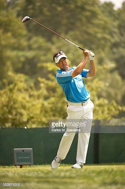 Travelers Championship Charlie Wi in action during Saturday play at TPC River Highlands Cromwell CT 6/26/2010 CREDIT Carlos M Saavedra