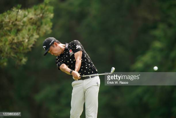 Travelers Championship: Kevin Na in action during Sunday play at TPC River Highlands. Cromwell, CT 6/28/2020 CREDIT: Erick W. Rasco