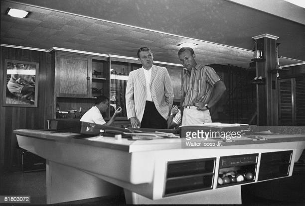 Golf US Open Arnold Palmer and agent Mark McCormack at Laurel Valley Country Club in Ligonier Pennsylvania 7/1/19657/31/1965