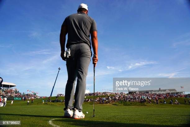 US Open Brooks Koepka during Sunday play at Shinnecock Hills GC Southampton NY CREDIT Erick W Rasco