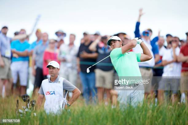 US Open Brooks Koepka in action during Sunday play at Erin Hills GC Hartford WI CREDIT Robert Beck