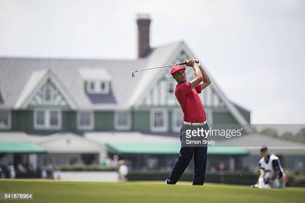 US Open Bryson DeChambeau in action during Sunday play at Oakmont CC Oakmont PA CREDIT Simon Bruty