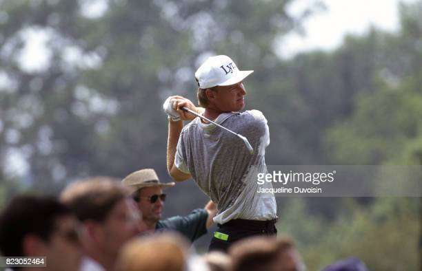 US Open Ernie Els in action drive at Oakmont CC Oakmont PA CREDIT Jacqueline Duvoisin