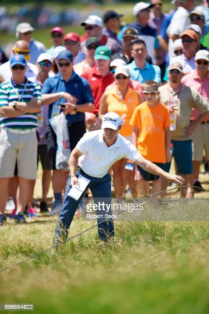 US Open Golfer in action during Thursday play at Erin Hills GC Hartford WI CREDIT Robert Beck