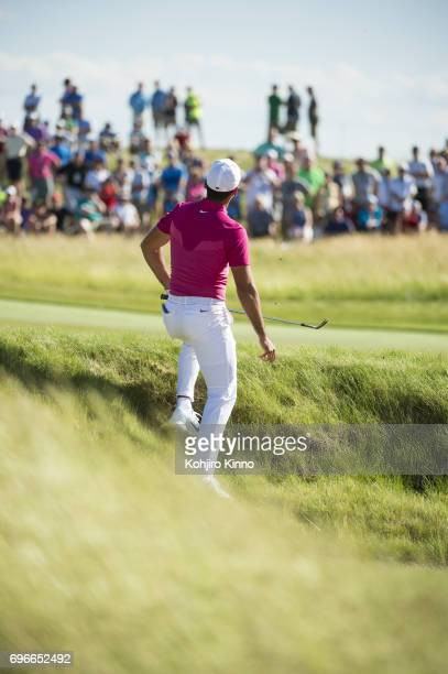 US Open Jason Day in action during Thursday play at Erin Hills GC Hartford WI CREDIT Kohjiro Kinno