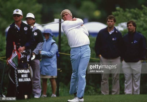 US Open John Daly in action during Thursday play at Shinnecock Hills Golf Club Southampton NY CREDIT John Iacono