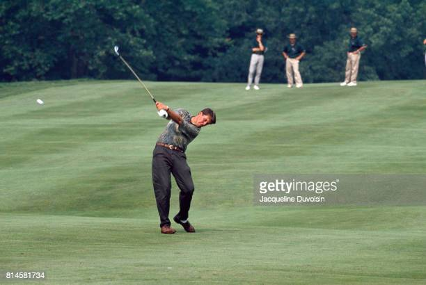 US Open Phil Mickelson in action driving at Oakmont CC Oakmont PA CREDIT Jacqueline Duvoisin