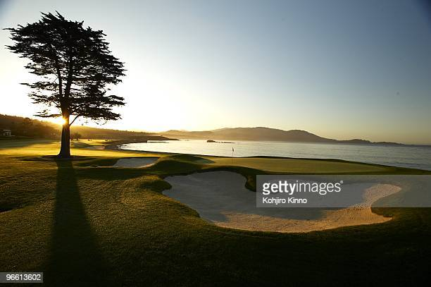 US Open Preview Scenic view of No 18 green at Pebble Beach Golf Links Pebble Beach CA CREDIT Kohjiro Kinno