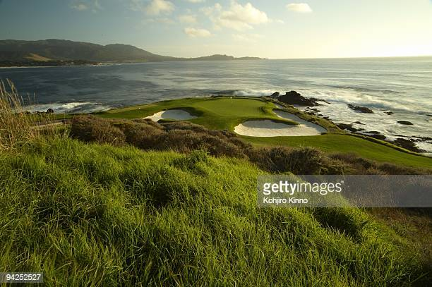 US Open Preview Scenic view of No 7 at Pebble Beach Golf Links Pebble Beach CA CREDIT Kohjiro Kinno