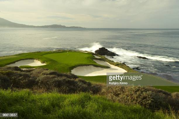 US Open Preview Scenic view of No 7 green at Pebble Beach Golf Links Pebble Beach CA CREDIT Kohjiro Kinno