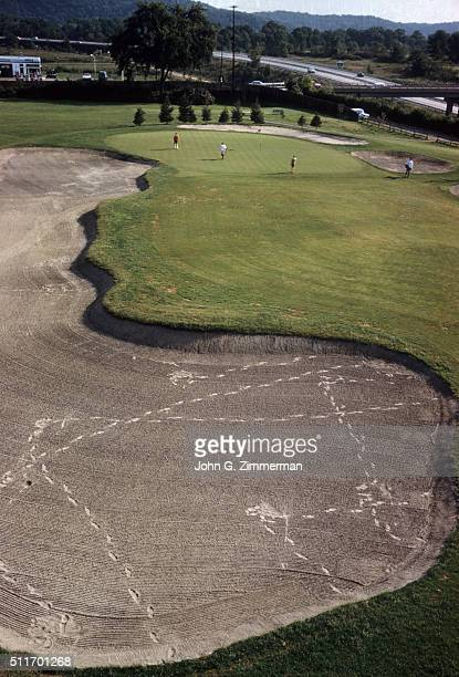 US Open Preview Scenic view of No 9 hole at Oakmont CC Cover Oakmont PA CREDIT John G Zimmerman