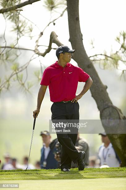 US Open Tiger Woods during Sunday play at Torrey Pines GC La Jolla CA 6/15/2008 CREDIT Robert Beck