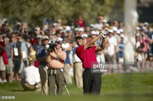US Open Tiger Woods in action on Sunday at Torrey Pines GC La Jolla CA 6/15/2008 CREDIT John Biever